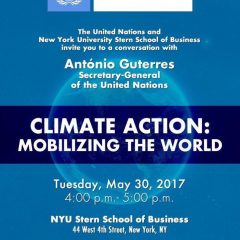 New York – Climate Action : Mobilizing the World