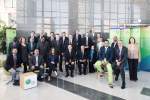 GCF's Board members Picture from the GCF