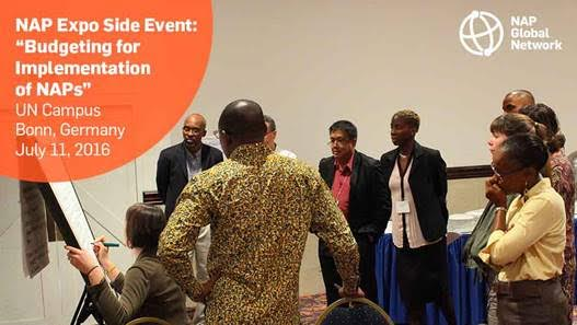 Climate Finance : A LDC  side event on National Adaptation Plans