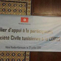 COP 22- Tunisie : Participation de la société civile tunisienne