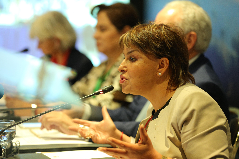"NDCs: ""The heart of the Paris Agreement"" Hakima El Haite"