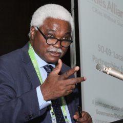 """Afrique-Finance climat-Territoires: """"GCLU-Afrique doit être une agence de mise en oeuvre accréditée par le fonds vert pour le climat""""- Jean Pierre Elong Mbassi"""