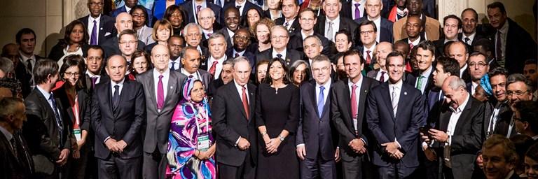 Les Maires du C40 demandent au G20 plus d'action climatique