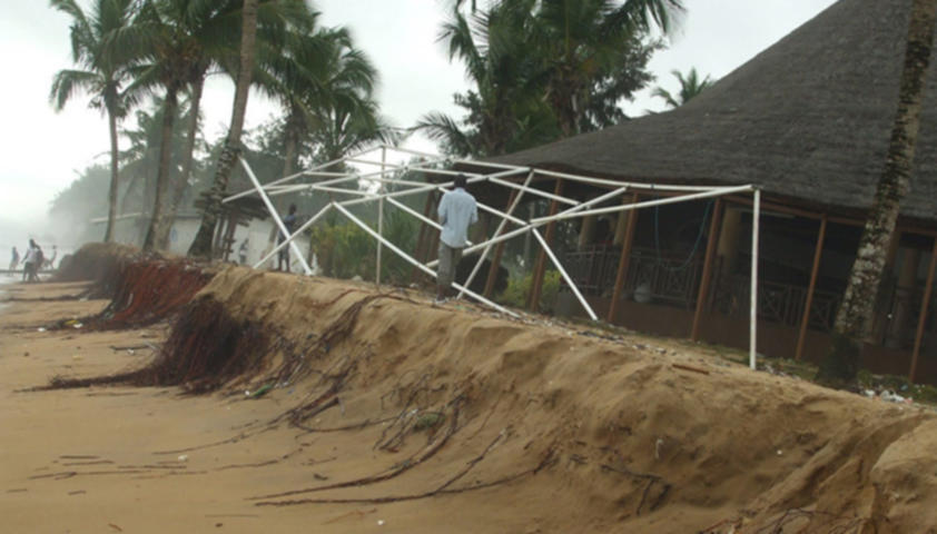Bénin- Erosion côtière: La population en alerte face aux promesses