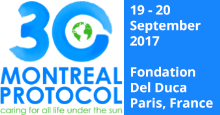 Symposium for the 30th Anniversary of the Montreal Protocol