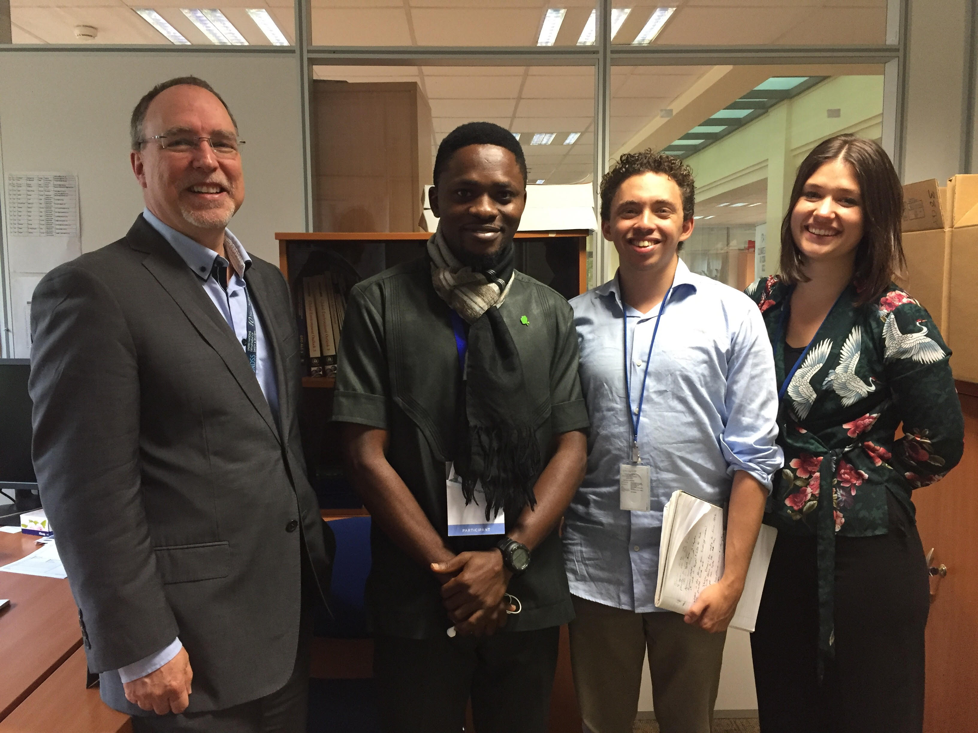 Nigerian Olumide Idowu becomes Youth Lead Author For Global Environment Outlook