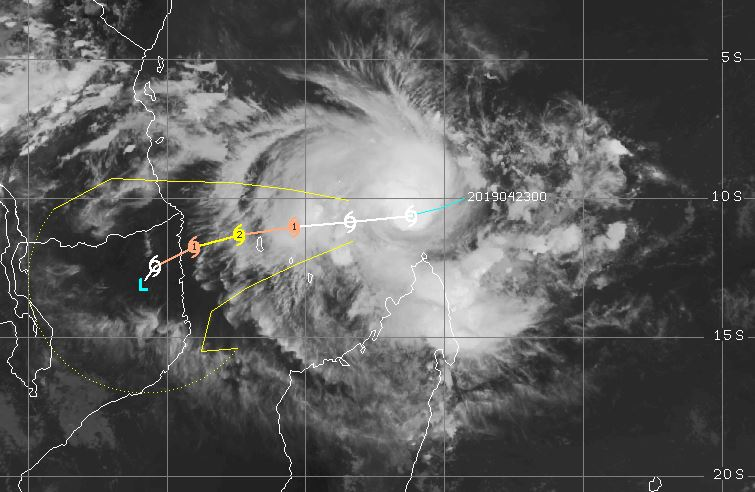 Un  cyclone aux Comores, au Mozambique et en Tanzanie