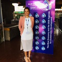 """Audrey de Souza- Blue Economy : """"It's all about the people for the people"""""""
