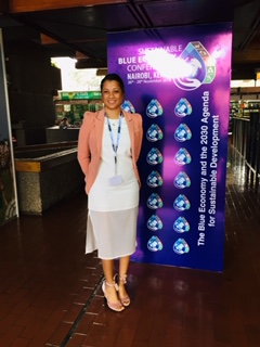 "Audrey de Souza- Blue Economy : ""It's all about the people for the people"""