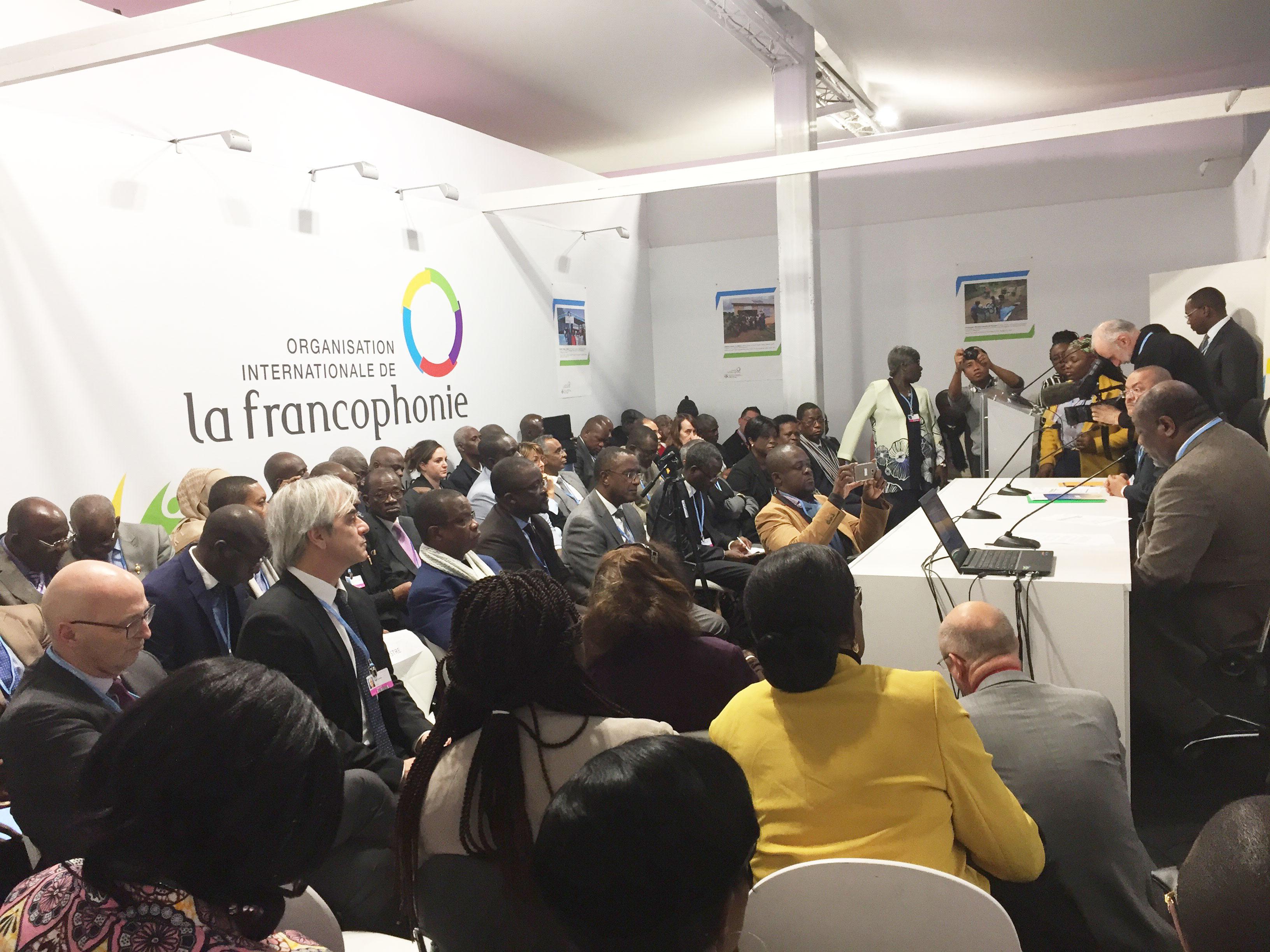 Déclaration Ministérielle Francophone de Katowice sur la lutte contre les changements climatiques