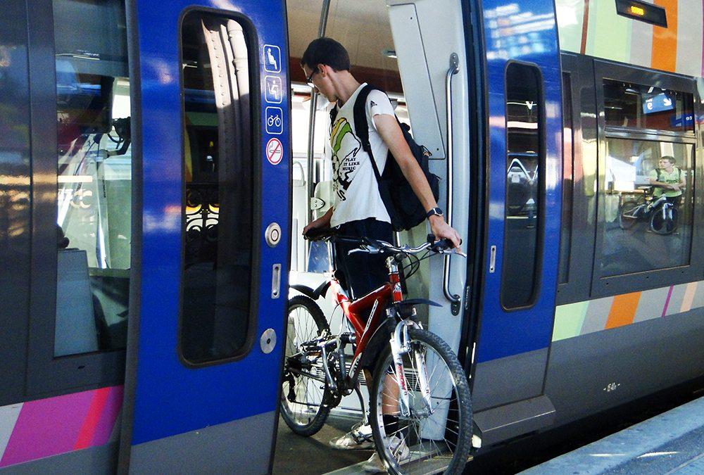 France: Des emplacements obligatoires pour vélos dans les trains neufs ou rénovés